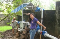The Benkatina Turbine in use in the Philippines.