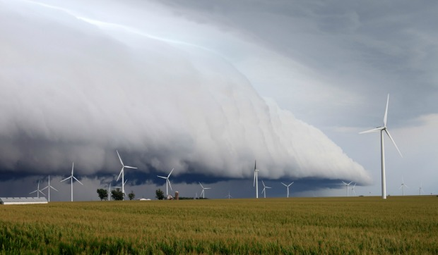 If wind-farm owners can predict how much wind is expected in the next 24 hours, they can get the best price for their wind energy in the market. Photo by www.shutterstock.com