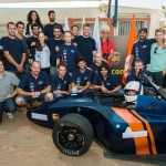 Israeli students hope their race car will speed to victory at the Formula SAE contest in Italy this weekend. (Dani Machlis)