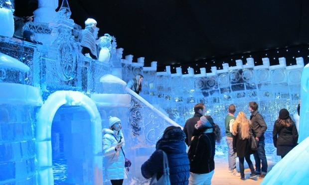 Jerusalem's first Ice Festival.