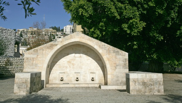 Mary's Well in Nazareth. Photo courtesy of Israel Ministry of Tourism