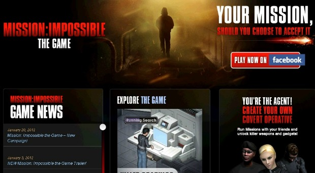 The Funtactix Mission Impossible game.