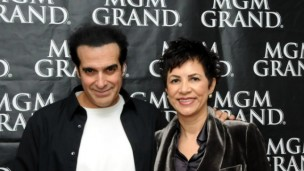 Master illusionist David Copperfield with Pelled.