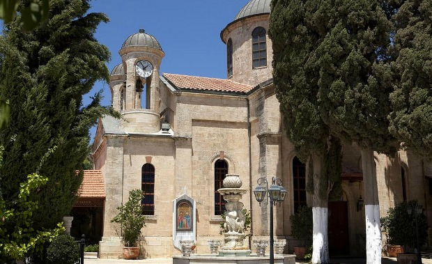 St. George's Church in Cana. Photo by Mordagan for the Israel Ministry of Tourism