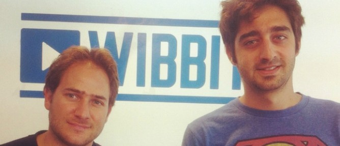 Zohar Dayan, right, and Yotam Cohen are creators of text-to-video publishing service Wibbitz.