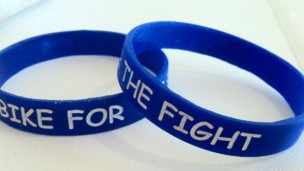 Bike for the Fight bracelets