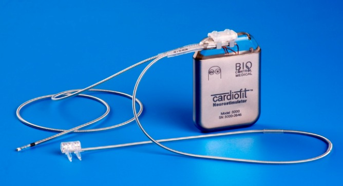 The CardioFit neurostimulator.