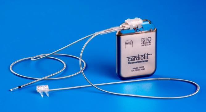 The CardioFit neurostimulator.