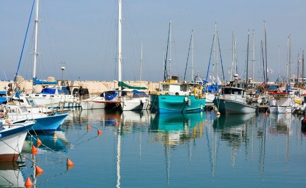 The port at Jaffa. Photo by www.shutterstock.com