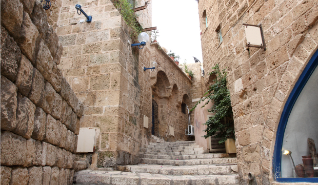 Wandering the streets of Jaffa's Old City reveals many surprises. Photo by www.shutterstock.com