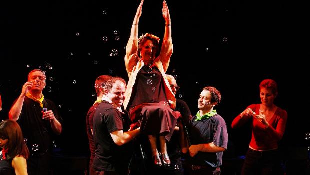 The Nalaga'at troupe.