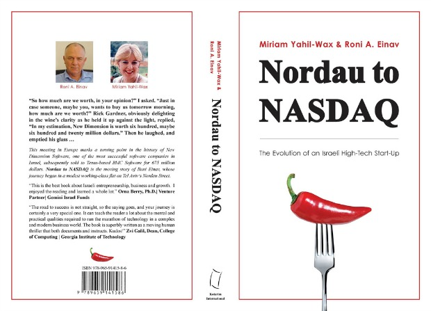 Nordau to NASDAQ dust jacket.