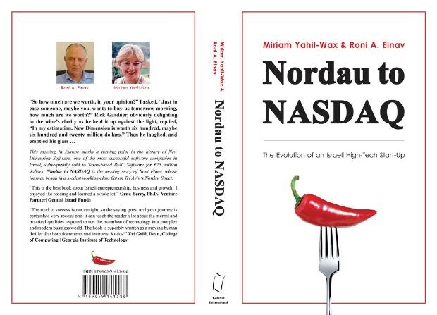 Nordau to NASDAQ dust jacket.