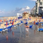 Zalul's new app warned users of a Tel Aviv beach closed temporarily due to sewage runoff.