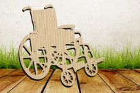 The world's first wheelchair made out of cardboard could be a game-changer for thousands of people with disabilities. (Illustration of wheelchair uses Shutterstock.com images)
