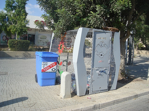 Israel recycles over 50 percent of its plastic bottles.