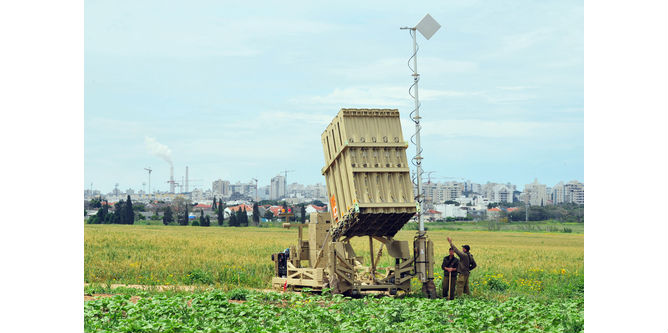Iron Dome system intercepts missiles – but not in Jerusalem ChameleonsEye / Shutterstock.com