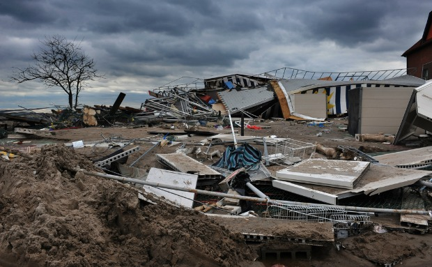 Many areas of the east coast were badly hit by the hurricane. Photo by Anton Oparin/Shutterstock.com