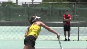 12-year-old tennis player wins Junior Orange Bowl