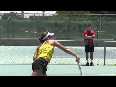 12-year-old tennis player wins Junior Orange Bowl