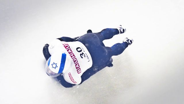 Going head first at speed for the Winter Olympics