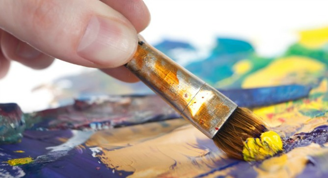 Finding the hidden artist - Parkinson's patients taking dopamine-stimulating medication found a sudden desire to paint. Image via Shutterstock.