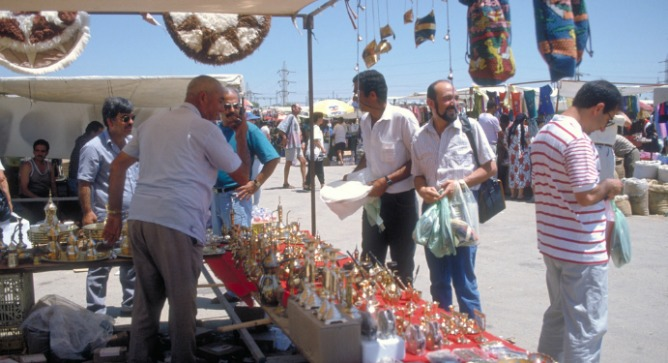 Beersheva Bedouin Market. Photo courtesy of Israel Tourism Ministry