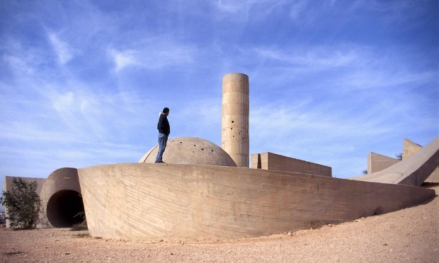 Beersheva Negev Brigade Monument. Photo courtesy of Israel Tourism Ministry