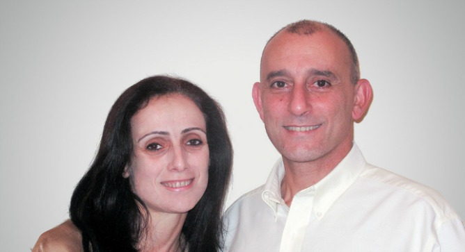 Arab Christians Reem and Imad Younis met at the Technion and started their own neurosurgery products business in Nazareth.