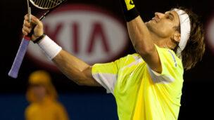 David Ferrer of Spain celebrates a win. (Shutterstock.com)