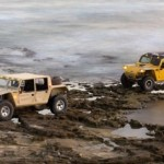 The Zibar field cars are meant for tough terrain.