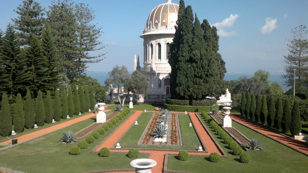 The Bahá'í Gardens and shrine are a UNESCO World Heritage Site.