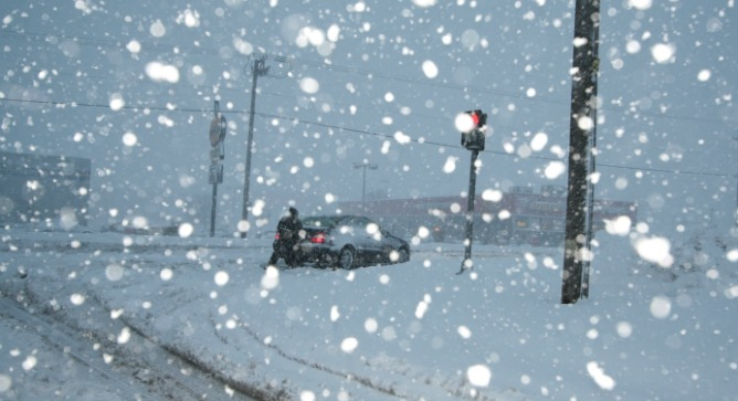 Getting stuck in snow could be a thing of the past. Photo via Shutterstock.