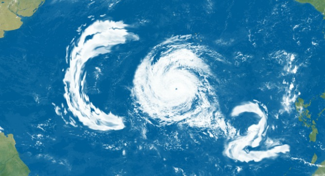 Tracking pollution from weather satellites. Image via Shutterstock.com