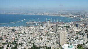 Haifa Bay will be getting a new port. Photo by Uria Ashkenazy/Wikimedia Commons.