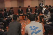 Japanese youth take part in IsraAID's self-development workshops and leadership skills seminars. (IsraAID)
