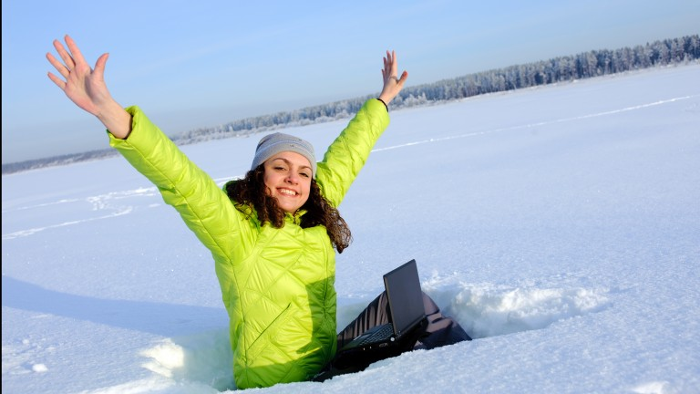 Alvarion keeps you online even when the arctic winds blow and temperatures drop well below zero. (Shutterstock.com)