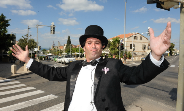Tour Haifa with costumed guides.