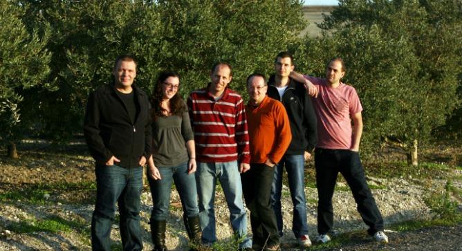 CEO Rafi Ton, far left, with the BannerPlay team.