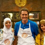 The three finalists: Salma Fiomy-Farij, Tom Franz, Jacki Azulay.