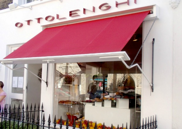 One of Yotam Ottolenghi's London locations.