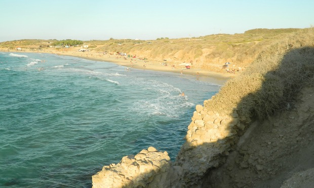 Palmachim Beach, still undeveloped. Photo by Yuval Mendelson via PikiWiki Israel