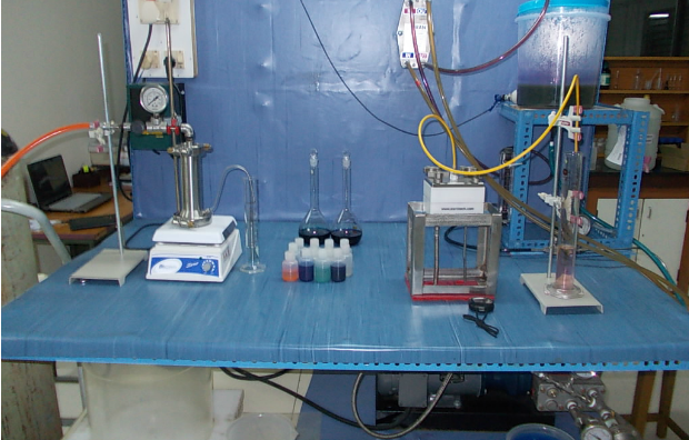 Prof. Yoram Oren's laboratory. Photo by Yoram Oren