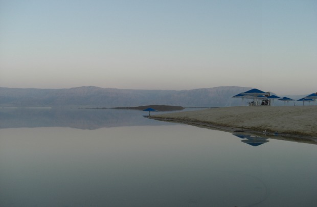 """Day's End at the Dead Sea"" by Denyse Kirsch"