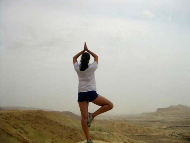 """Desert Yoga"" by Yael"