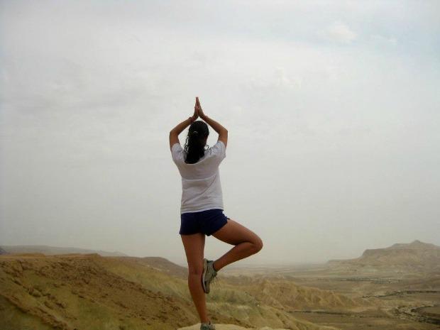 """Desert Yoga"" by Yael"
