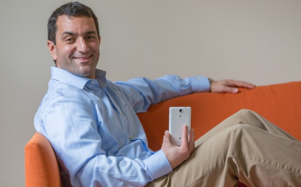 Israel Ganot's Gazelle.com gives people cash for old gadgets. Photo by Bill Gallery