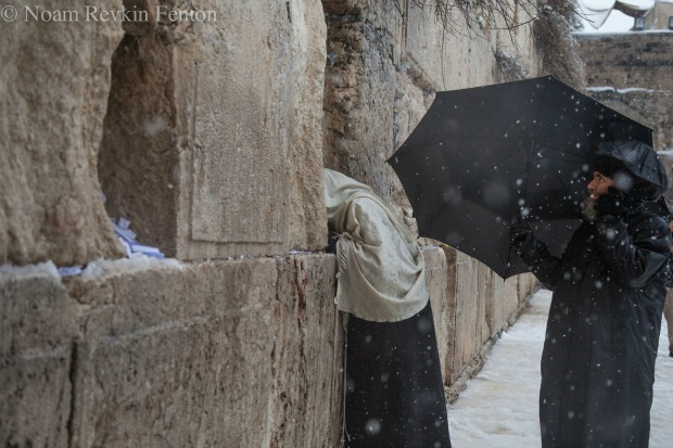 """Snow in Jerusalem"" by Noam Revkin-Fenton"