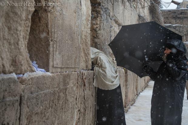 """""""Snow in Jerusalem"""" by Noam Revkin-Fenton"""