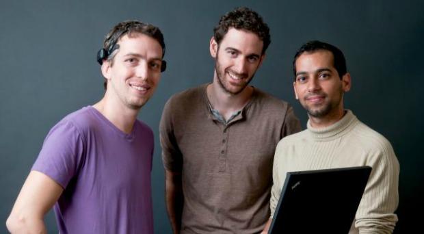MinDesktop team Ariel Rozen, Ori Ossmy, and Ofir Tam